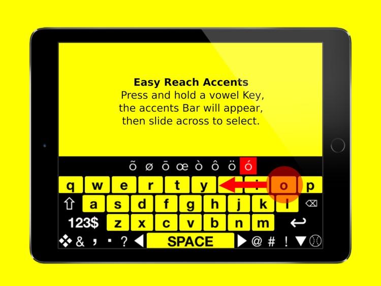 Big Keys Low Vision Keyboard screenshot-3