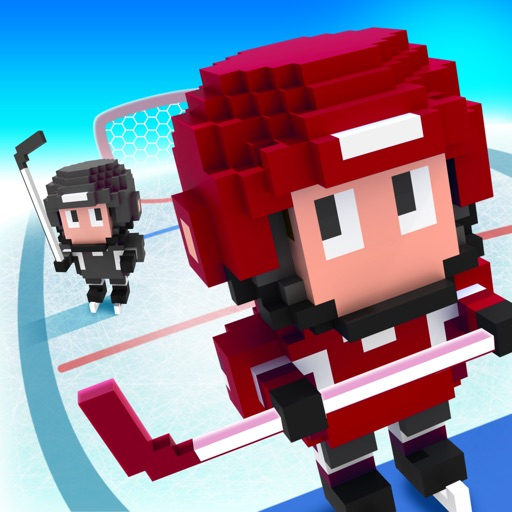 Blocky Hockey — Arcade Ice Runner
