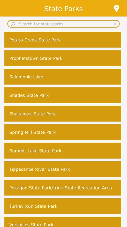 Indiana State Parks Guide