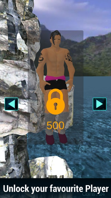 Cliff Diving 3D-Real Jumping Sports Championship screenshot two