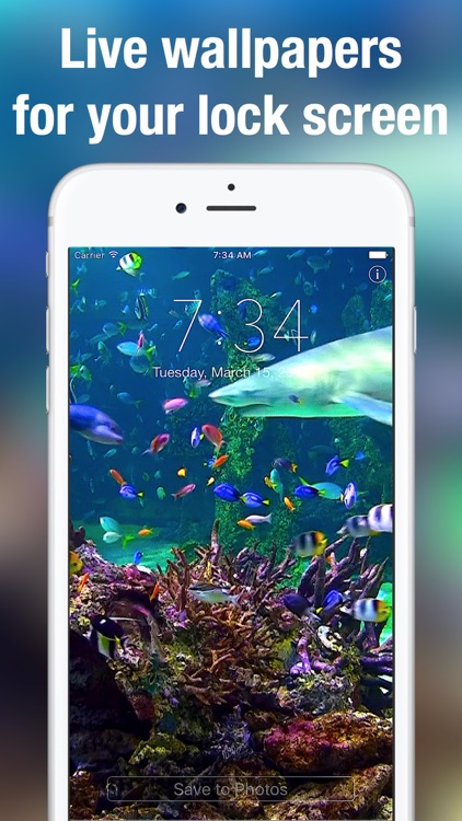 Aquarium Dynamic Wallpapers+ screenshot-0