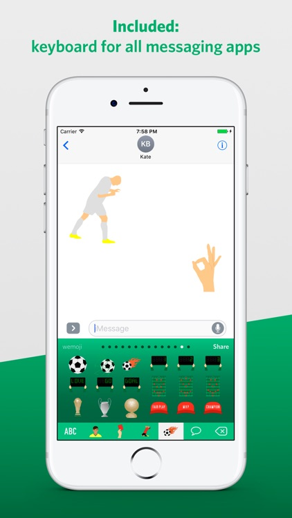 Football Legends Emoji screenshot-3