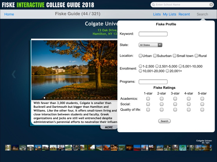 Fiske College Guide 2018 screenshot-4