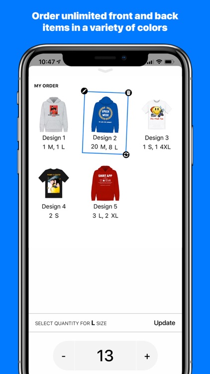 Shirt App screenshot-4