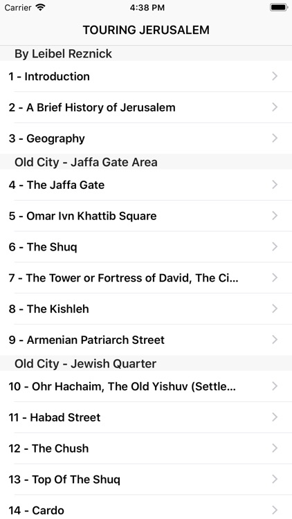 Old City of Jerusalem Guide screenshot-3