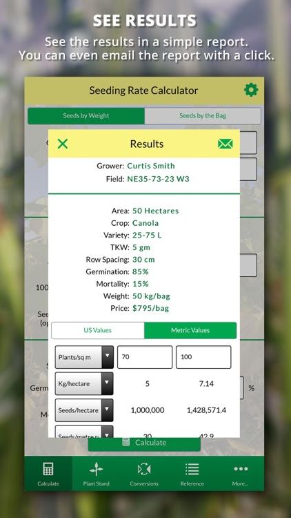 Agro Seeding Rate Calculator