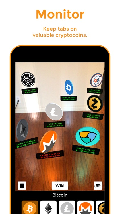 Bitcoin AR screenshot-1