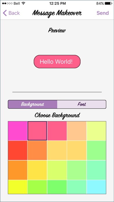 Message Makeover - Colorful Text Message Bubbles app image