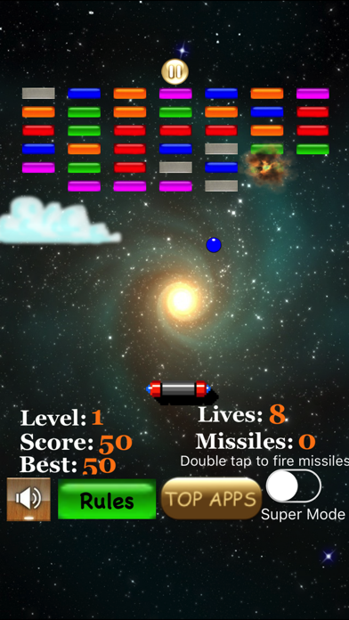 Bricks Arkanoid screenshot 1