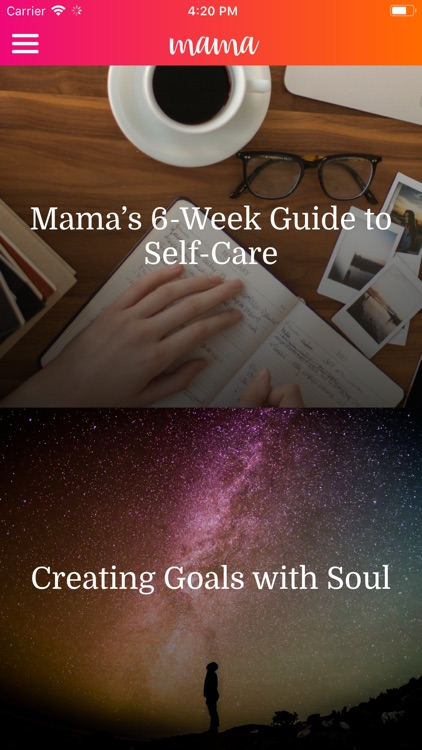 mama—daily self-care for moms screenshot-4