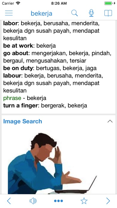 Indonesian Dictionary Dict Box iPhone