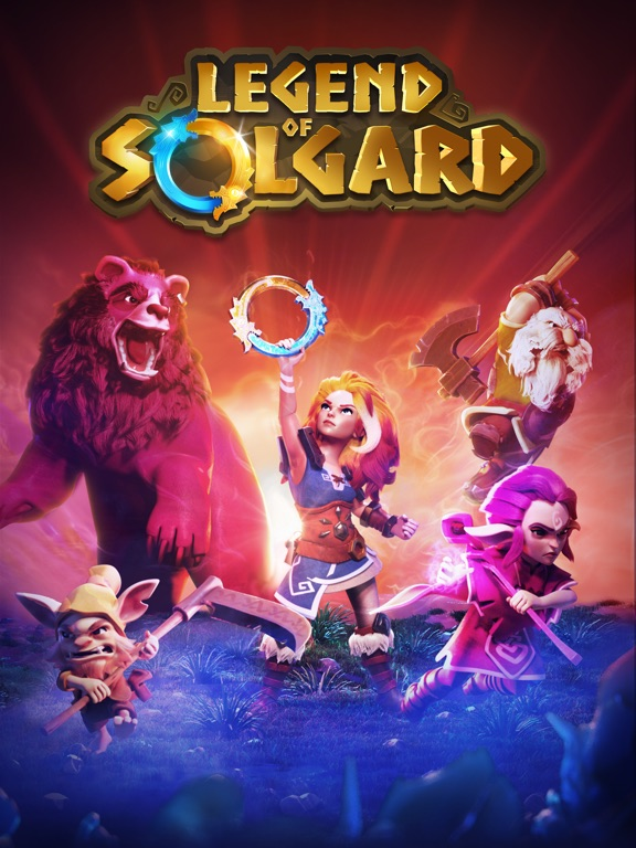 Игра Legend of Solgard