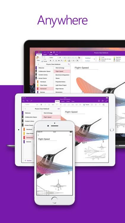 Microsoft OneNote screenshot-4