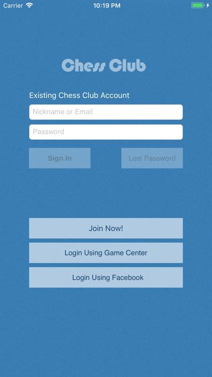 Chess Club - Open