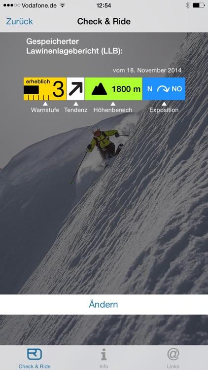 ORTOVOX ALPINE TOURING APP screenshot-3