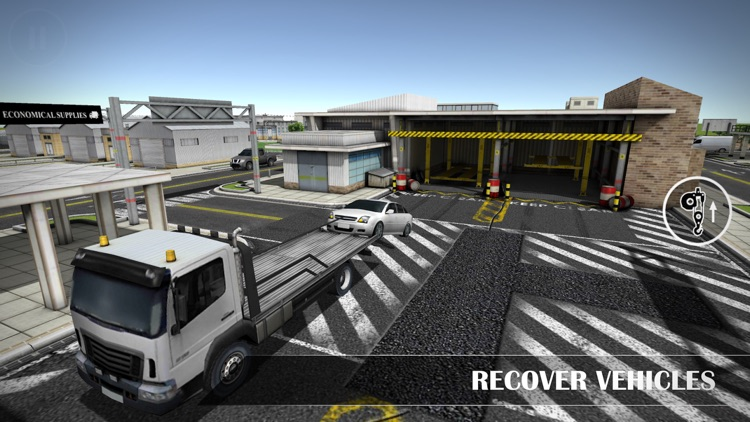 Drive Sim-ulator 3D 2016 screenshot-0
