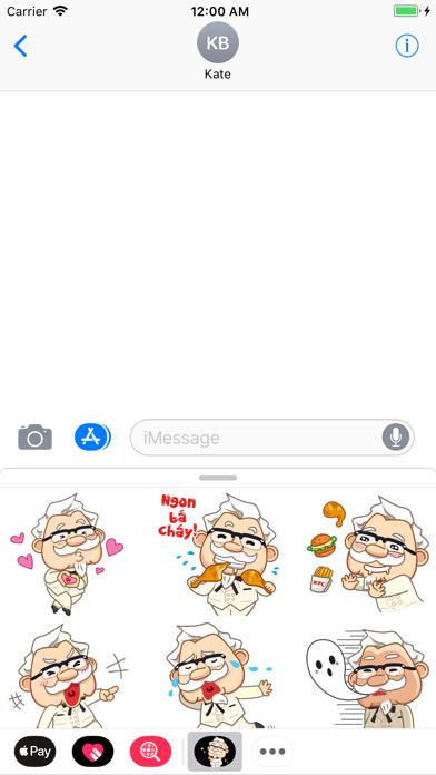 KFC Việt Nam StickersScreenshot of 1