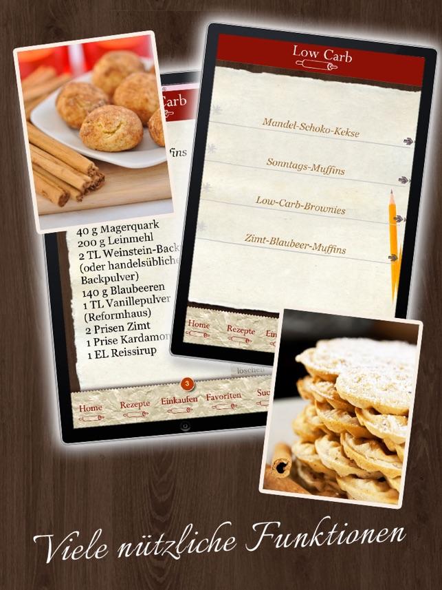 Living At Home Rezepte low carb rezepte backbuch on the app store