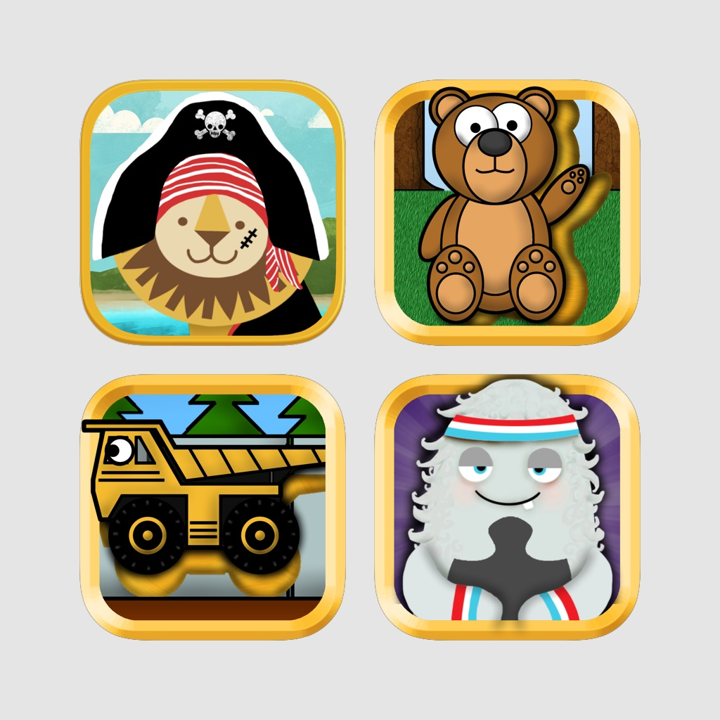 Puzzle Pack Starter Bundle for Toddlers and Preschoolers