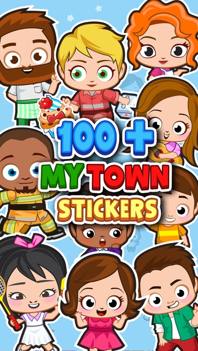 My Town : Sticker Book screenshot 3