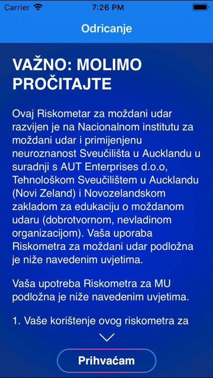 Stroke RiskoMeter CroatianLite
