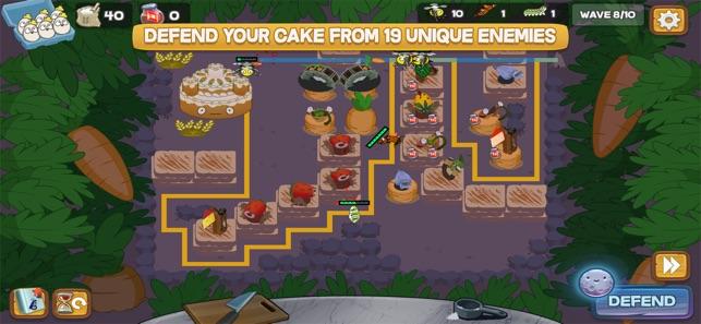 Defend the Cake Tower Defense Screenshot