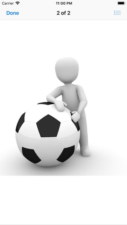 Human and Football Stickers screenshot-4
