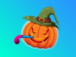 Happy Halloween Weird Sticker