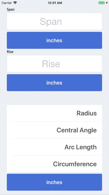 Radius Calculator