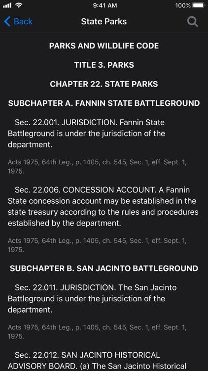 Texas Law Book screenshot-7