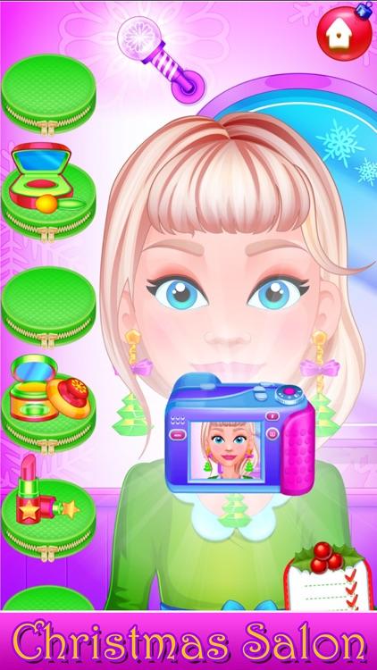 Santa Hair Salon Christmas Spa screenshot-7