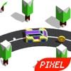 绕圈跑车-单机像素赛车游戏