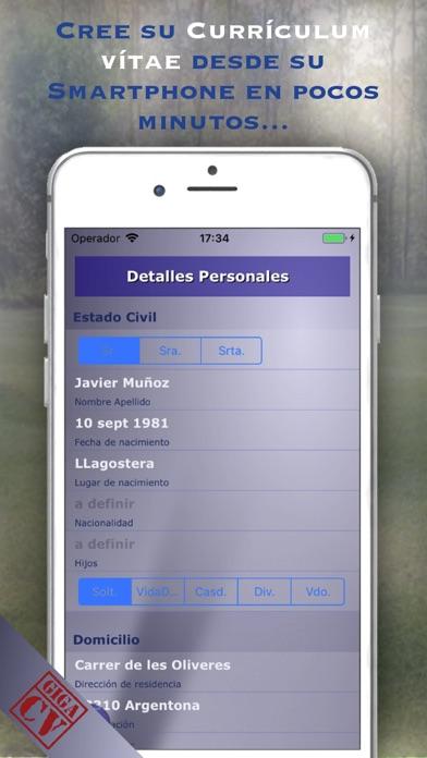 download giga-cv Su Curriculum apps 3