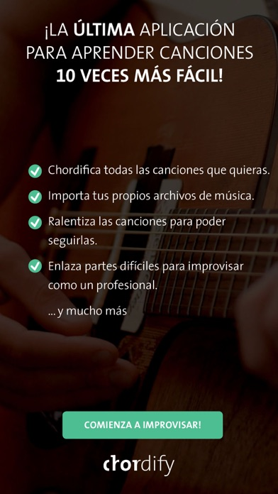 Screenshot for Chordify in Chile App Store