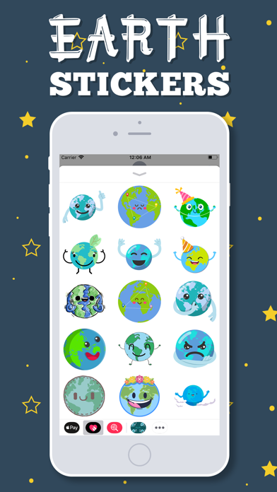 Earth Emojis screenshot three