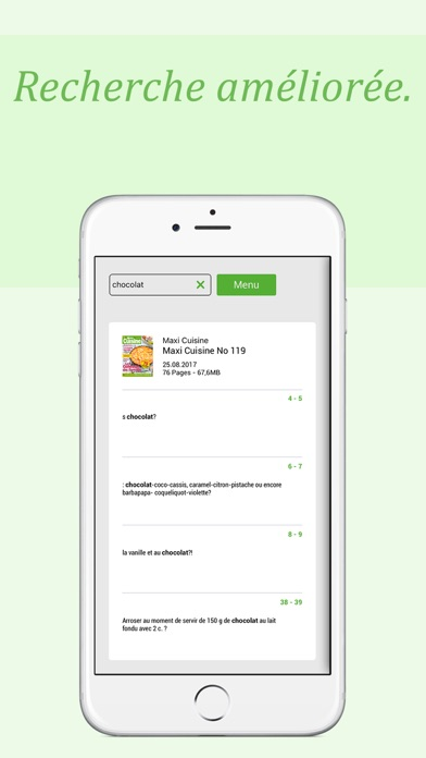 Maxi Cuisine Screenshot