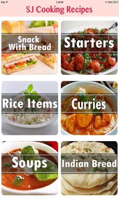 SJ Cooking Recipes App screenshot two