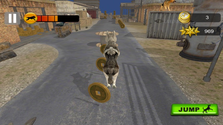 Dog Racing Challenge 3D 2017 screenshot-0