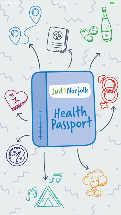 Just 1 Norfolk Health Passport screenshot one