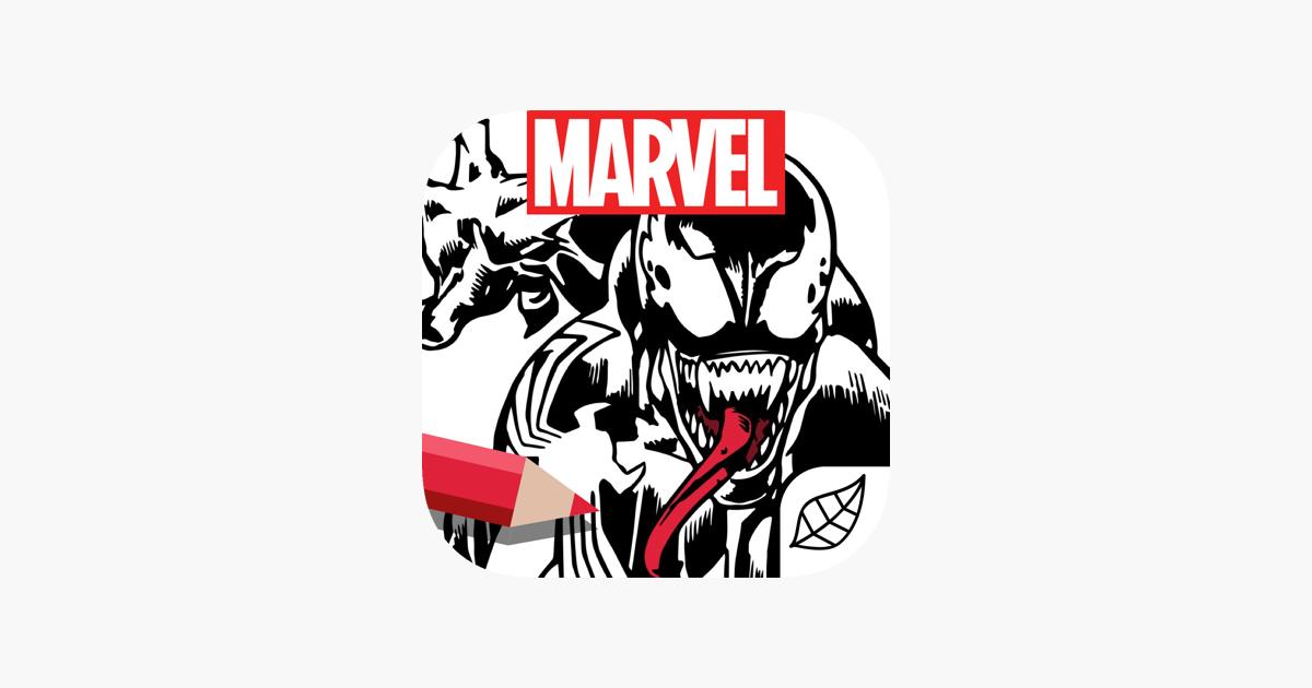 Marvel: Color Your Own en App Store