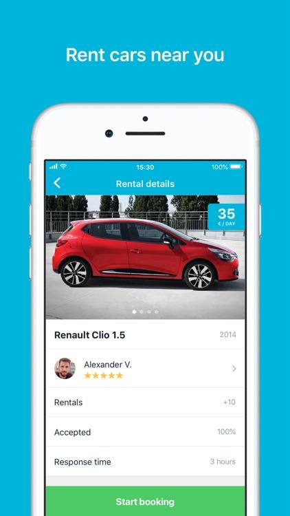 GoMore – rental & ridesharing