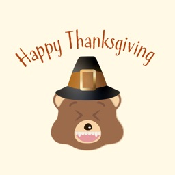 Thanksgiving Bear Emoji