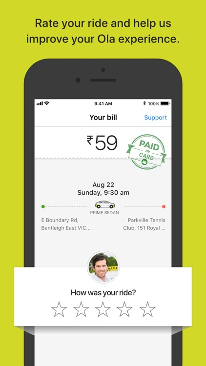 Ola Cabs - Book Taxi & Auto screenshot-3