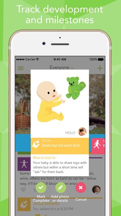 Ovia Baby Development Tracker