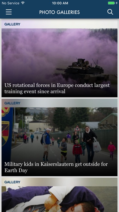 Stars and Stripes News app image