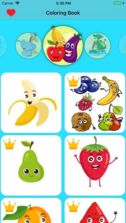 Coloring Book for Kids HD screenshot-3