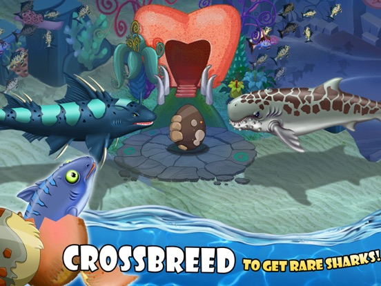 SHARK WORLD -water battle game-ipad-3
