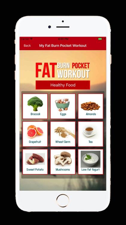 My Fat Burn Pocket Workout screenshot-3
