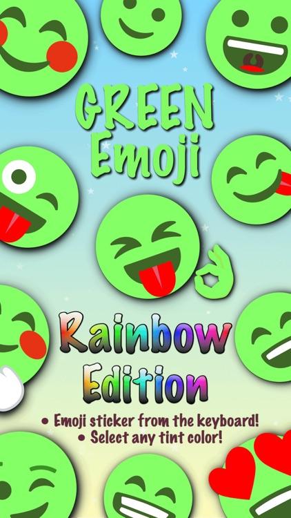 GREEN Emoji • Stickers