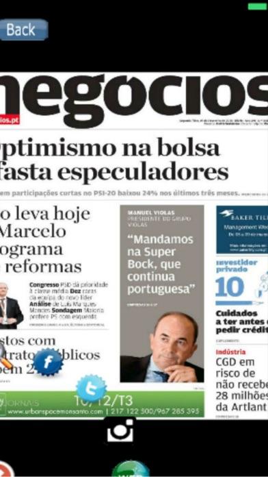 Entre Notícias Portugal screenshot four